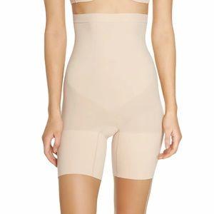 SPANX Higher Power High Waisted Short Soft Nude XL